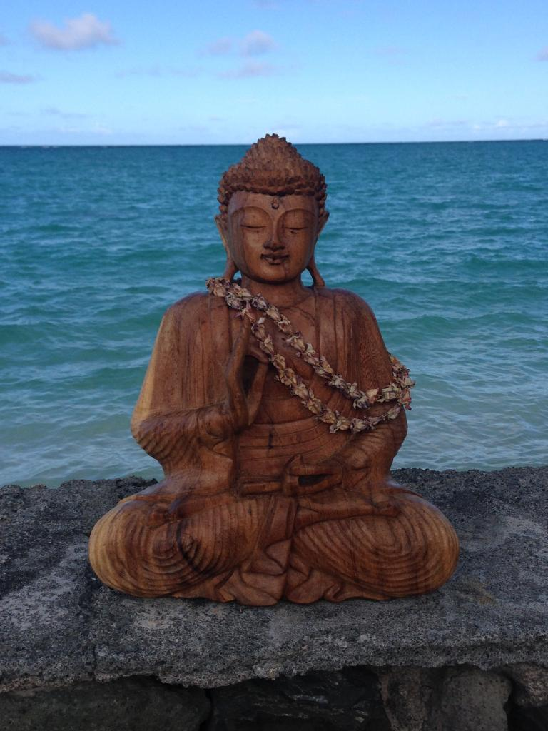 Buddha by the water