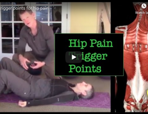 Trigger point work for your hip pain.
