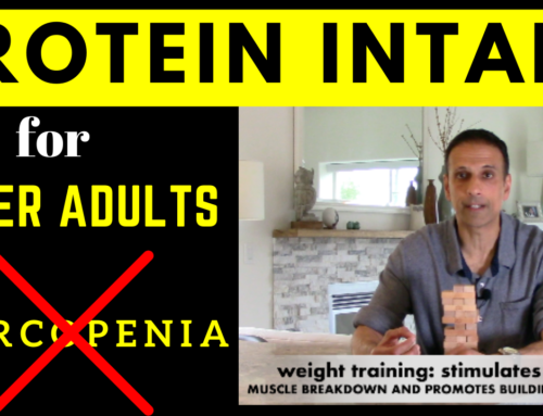 Prevent Sarcopenia: Are you getting enough Protein?