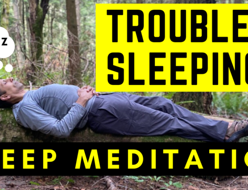 Difficulty sleeping? Try a Body Scan Meditation before bed