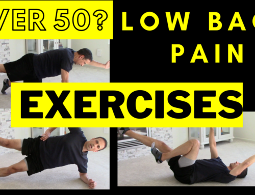 Over 50 with low back pain? Simple, yet effective 5 min daily core routine